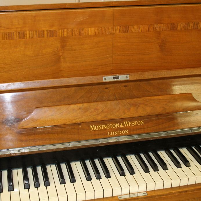 Monington & Weston 112cm traditional upright  in Walnut  c1938